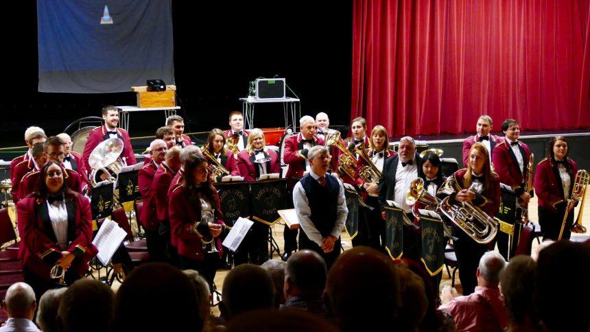 Conducting Middleton Band