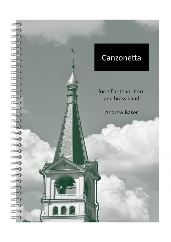 Canzonetta tenor horn solo by Andrew Baker