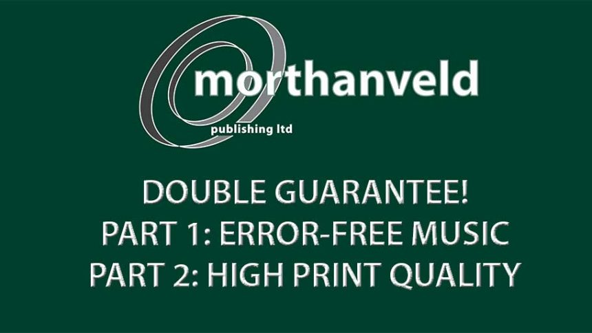 Morthanveld Publishing Double Guarantee