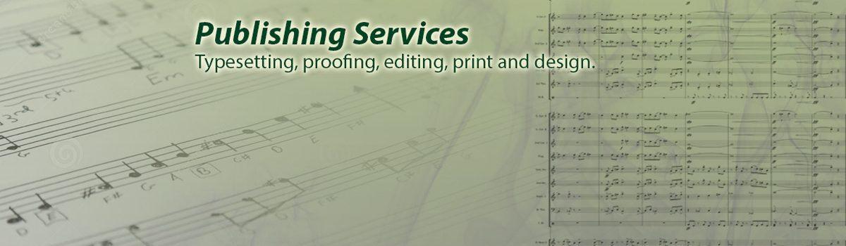Permalink to: Publishing Services