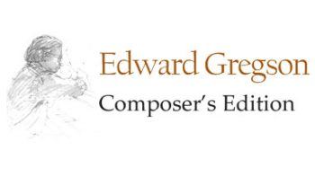 Permalink to: Edward Gregson Composer's Edition